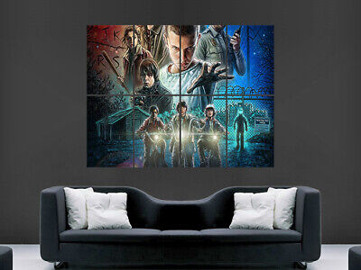 Stranger Things Poster Tv Series Image Wall Art Picture Print Giant