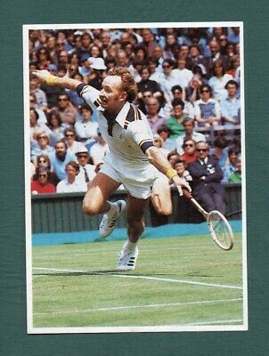 Rod Laver 1985 French Tennis Issue 3615 Poulain Serie 38 #15