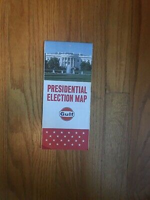 Presidential Election Map From 1964