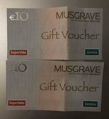 Supervalu / Centra €20 Gift Voucher for use in the Republic of Ireland