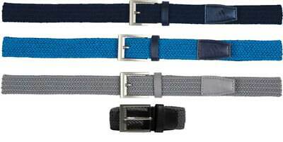Adidas Braided Stretch Belt Men's Golf New - Choose Color & Size