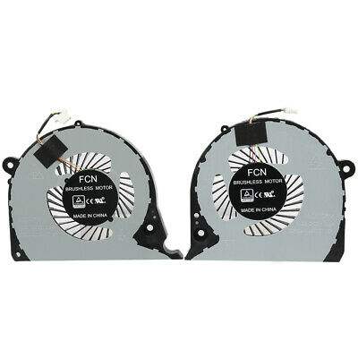 1 Pair Fits DELL Inspiron 7577 7588 G7-7588 CPU Cooling Fan Laptop Accessories