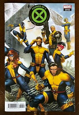 Powers of X #4 Jorge Molina Connecting Cover Variant | Near Mint or Better!