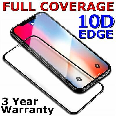 Tempered Glass FULL COVER Screen Protector for Apple iPhone 11 Pro X Max XS XR 8