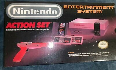 Nintendo Entertainment System Action Set NES Complete in Box CIB + Game