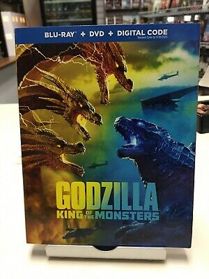 Godzilla: King of the Monsters (2019, Blu-Ray, DVD) Kyle Chandle