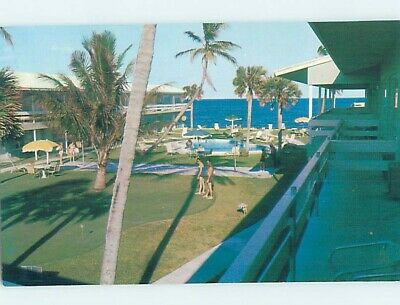 Pre-1980 MINI GOLF AT RAINBOW RESORT Pompano Beach By Fort Lauderdale FL c4404