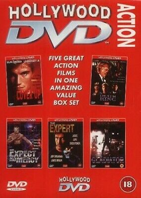 The Hollywood Action Box Set [DVD] - DVD  COVG The Cheap Fast Free Post