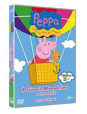 MOVIE-PEPPA PIG - IL GIRO IN MONGOLFIERA -  CD OAVG The Cheap Fast Free Post The