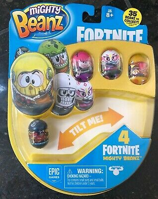 Fortnite Mighty Beanz Lot Of 4 EPIC GAMES