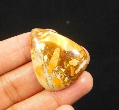 40 Cts. 100% Natural Brecciated Mookaite Loose Cabochon Gemstone NG2250