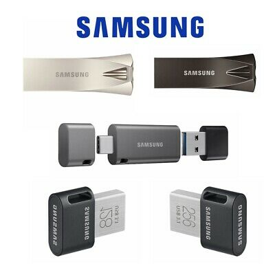 Samsung USB 3.1 Flash Drive 64G 128G 32G 256G Fit Plus Bar Plus Type-C Duo Plus