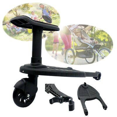 Board Stroller Step Board Stand Connector Toddler/Kids Up To 25Kg Wheeled