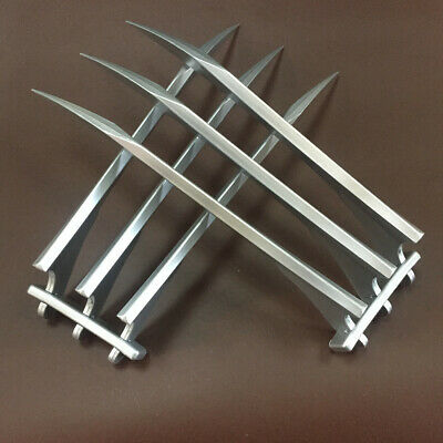 2 Pcs/1 pair X-men Wolverine Claws Logan Paws 1:1 Cosplay Props ABS Plastic Gift