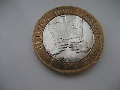 £2 Two Pound Coin Olympic Games Handover Beijing To London 2008 2012