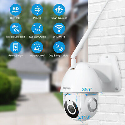 FLOUREON YI IOT 1080P WiFi IP Camera Pan/Tilt Motion Detection Smart Tracking