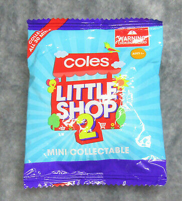Coles Little Shop 2 Mini Collectables ~ Opened $3.99 ~ BNIP $4.99 ~ All 30 Avail