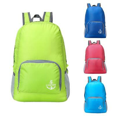 Outdoor Sports Waterproof Foldable Backpack Hiking Bag Camping Rucksack NEW