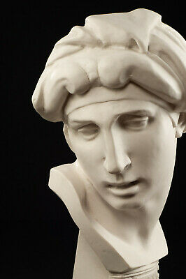 Large Marble bust of Aurora after Michelangelo, Classical Sculpture. Art, Gift.