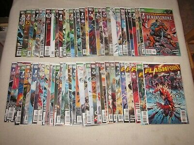 Flashpoint 1-5 + 59 Crossovers!!! Geoff Johns Andy Kubert 2011