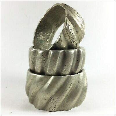 Lot, Ancient Bracelets Bronze Artifact Extremely Handmade Bangles Rare old