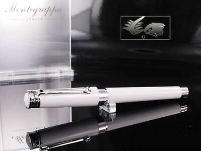 Montegrappa Parola Fountain Pen - White Resin ISWOT-AW Nib: EF