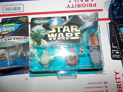 1996 Star Wars Kenner Micro Machines Galoob Brand ,Lot of 4 items