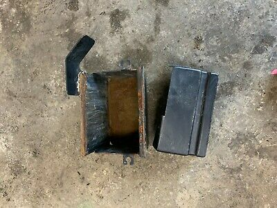 John Deere M665 Battery Box And Cover M653 M655 Part# M137215