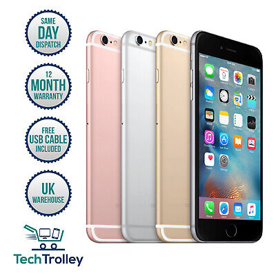 Apple iPhone 6 Plus (6+)16GB 64GB 128GB Rose Gold Silver Gold 12 Month Warranty