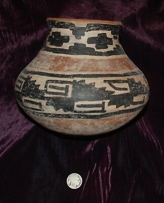 Pre-Columbian ~ MAYAN ~ Pre-Colombian Terracotta Polychrome BOWL ~ NR