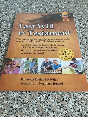 Premium Last Will & Testament Kit by Neill Clerk & Murray Solicitors Book The