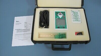 MSA MiniOX 3000 Oxygen Monitor With Accessories & Case