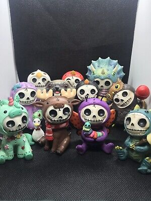 Furrybones Collection Lot Of 11 Figurines Mint Condition One Damage