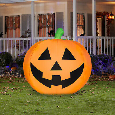 Airblown Inflatables Pumpkin Halloween Jack O Lantern Yard Outdoor Decoration