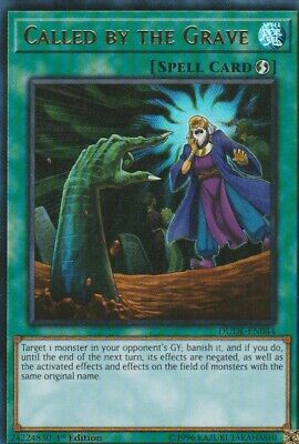 Yugioh Holo Card Called By The Grave Dude-En044 1St Edition