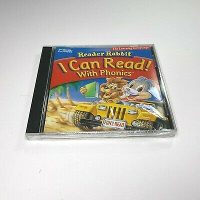 Reader Rabbit I Can Read with Phonics  Learn Critical Reading Skills  New Sealed