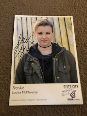 Louise Mcmenemy (River City) Signed Cast Card