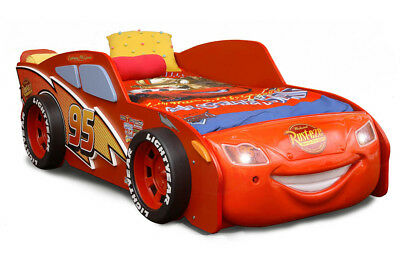 Autobett CARS komplett Bett MQ QUEEN DISNEY PIXAR© inkl. Matratze & LED PM_MQM07