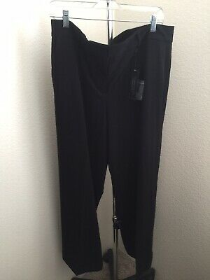 Lane Bryant The Sophie Straight Fit Wide Leg Trouser New with Tag Size 16