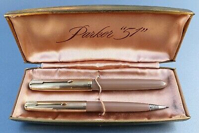 One Parker 51 NIB 14ct Gold-Lightly Used,1950-1960-Made In England