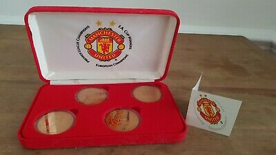 Manchester united Medallions The treble 1998 - 1999