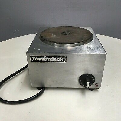 Toastmaster Commercial Hotplate Stainless Steel #1142 NSF UL Rated Made in USA