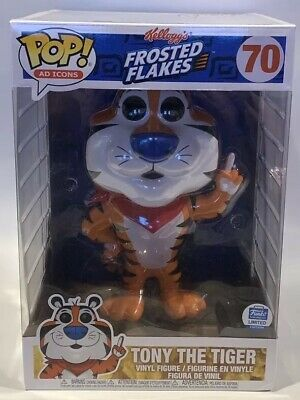 """Funko Pop Kelloggs Cereal Frosted Flakes Tony The Tiger 10"""" inch Exclusive"""