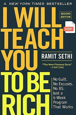 """I Will Teach You to Be Rich, Second Edition by Ramit Sethi """"PDF BO0K"""""""