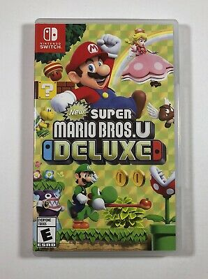 New Super Mario Bros. U Deluxe (Nintendo Switch, 2019) Fast Free Shipping