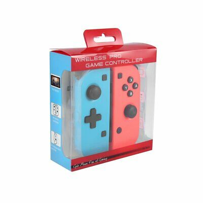 Nintendo Switch Joy-Con Neon Red/Neon Blue Controllers US