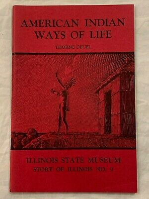 Illinois State Museum Journal (1968) Indian Artifacts Arrowheads Magazine H3