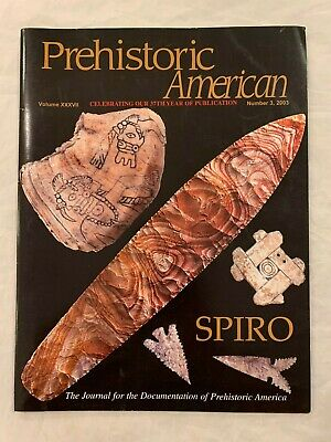 Prehistoric American 2003 #3 Authentic Indian Artifacts Arrowheads Magazine H3