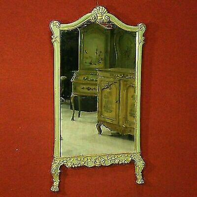 Mirror Wooden Lacquered Golden Mirror Painting Furniture Antique Style 900