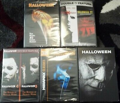 Halloween 1 2 3 4 5 6 7 8 9 Complete Movie Collection 1-9 DVD 1978-2018 Horror.